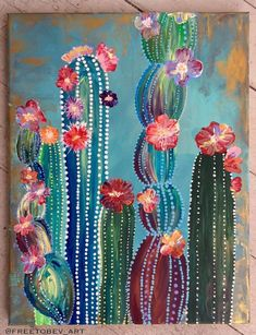Acrylic Painting Acrylic Landscape Painting Acrylic Airbrush Acrylic Art Acrylic Art For Sale Acrylic Artwork Acrylic Canvas - wasserfarben kunst - The Effective Pictures We Offer You About cactus A quality picture can tell you many things. Acrylic Artwork, Simple Acrylic Paintings, Acrylic Painting Canvas, Canvas Canvas, How To Paint Canvas, Canvas Painting Designs, Acrylic Painting Flowers, Canvas Artwork, Chalk Paint