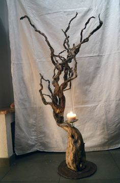 Lighting, Home Decor, Upcycled Crafts, Wood Steel, Home Decor Accessories, Sculptures, Stones, Homes, Homemade Home Decor