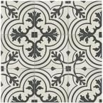Merola Tile Twenties Vintage Ceramic Floor and Wall Tile - 7-3/4 in. x 7-3/4 in. Tile Sample-FRC8TWVT - The Home Depot