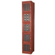 $1,499.99-$1,749.99 The 60-Bottle Wine Storage Locker offers secure wine storage as each individual compartment can be locked. This is ideal for residential or commercial use. The wine locker racks have an attractive metal lattice door panel for open air circulation. This storage rack contains 5 locker compartments holding 12 bottles each, storing a total of 60 bottles. There is no back panel  ...