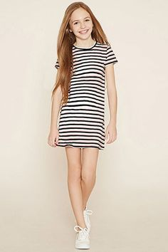 Girls Stripe Dress (Kids)