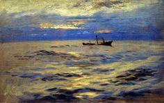 John Singer Sargent - The Derelict (circa 1876-1877)