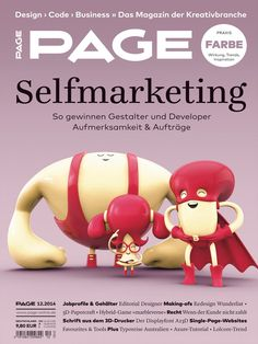 PAGE 12.2014; Marketing, Self-Marketing, Kommunikation, Agentur, Freelancer, Social Media Marketing, Marketingstrategie, Bewerbungstipps