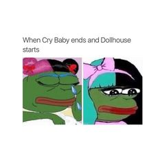 Crybaby Melanie Martinez, Bae, Marina And The Diamonds, My Escape, Cry Baby, Funny Relatable Memes, My Music, Crying, Fangirl