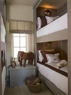 Neutral Boy's Bedroom | Beth Webb Interiors