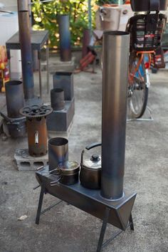 Discover thousands of images about Gypsy Stove Boat Heater Caravan Heater Wood Burner Stove Heater, Stove Oven, Metal Projects, Welding Projects, Jet Stove, Rocket Mass Heater, Rocket Stoves, Stove Fireplace, Wood Burner