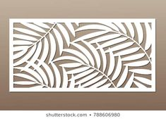 Find Decorative Card Cutting Palm Leaf Pattern stock images in HD and millions of other royalty-free stock photos, illustrations and vectors in the Shutterstock collection. Laser Art, Laser Cut Wood, Cnc Cutting Design, Laser Cutting, Leaf Stencil, Stencils, Metal Art, Wood Art, Gravure Laser