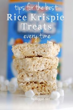 Have you ever made something as simple as rice krispie treats and after you make them you're wondering why they didn't turn out right? I definitely have! That's why I'm sharing the best tips to get...