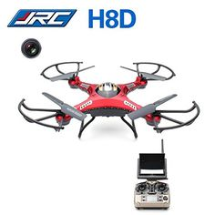RED  JJRC H8D FPV Headless Mode RC Quadcopter With 2MP Camera RTF *** Check this awesome product by going to the link at the image.