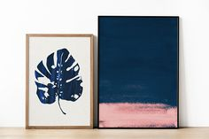 Printable Dark Blue and Pink Print. Navy Art Print. Navy Print. Abstract Painting. Modern Abstract Art Prints. Blush Pink and Blue Wall Art. Minimal Painting. Dark Blue Art Prints. Blush Pink Art. Navy and Pink Painting. Pink Wall Art. Abstract Pink and Blue Paintings. /// Available at The Peoples Prints Shop @ Etsy.com/shop/thepeoplesprints