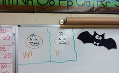 """like how the smileys are changed to pumpkins~~Whole Brain Teaching and """"The Scoreboard"""""""