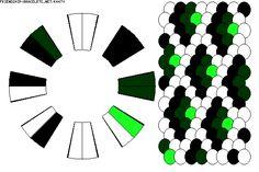 Strings: 16 Colors: 4 -  Pattern K4470
