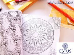 Please tell me this doesn't look relaxing.You know you can grab one at goo.gl/vgGTZr right? Mandala Design, Mandala Art, Mandala Coloring, Coloring Books, Artist, Fun, Vintage Coloring Books, Coloring Pages, Funny