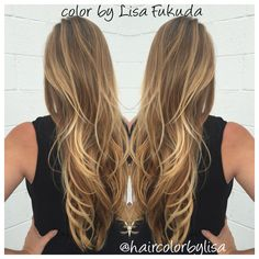 Balayage blonde highlights by lisafukuda styled by for 77 maiden lane salon