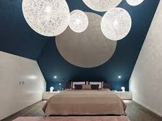 Bildergebnis für schlafzimmer ideen wandgestaltung dachschräge