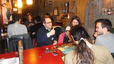 """Jugando a 21 Mutinies en las jornadas """"Vespres Lúdics"""", con Claudio Yoldi (Ludus Mundi), en Girona.  / Playing 21 Mutinies in """"Vespres Lúdics"""" Event, with Claudio Yoldi (Ludus Mundi), in Girona."""