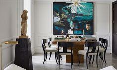 Modern Dining Room by N Studio! Interior Design Ideas Best interior designers Modern Dining Chairs #homedecor #luxuryinteriordesign #housedecoration Find more in: https://www.brabbu.com/en/inspiration-and-ideas/
