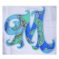 Machine Embroidery Designs Applique Alphabet by KaboDesignsdotcom, $7.00