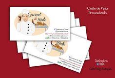 Ilustrações Catita Design: Cartões de Visitas Personalizados