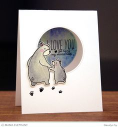 In a Creative Bubble: Mama Elephant - Bear Hugs