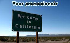 Voos promocionais para California EUA a partir de R$ 1228 #california #estadosunidos #viagens #passagens