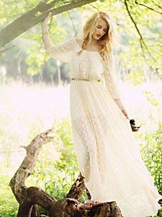 Ana's Limited Edition White Summer Dress-Free People.  LOVE IT!