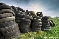 Can old tires be fully recyclable? Old Tires, Circular Economy, Recycling, Canning, Green, Upcycle, Home Canning, Old Ties, Conservation