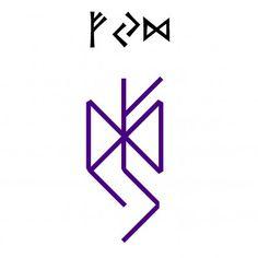 ᚠᛃᛞ: Fehu—Yer—Dagaz — Formula to strengthen faith in yourself Norse Runes, Elder Futhark Runes, Norse Symbols, Egyptian Symbols, Viking Runes, Ancient Symbols, Viking Rune Tattoo, Viking Tattoos, Wiccan Tattoos