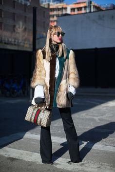 So Cool It Hurts: New York Fashion Week Street Style georgiapapadon.com