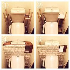23 Clever DIY Christmas Decoration Ideas By Crafty Panda Small Toilet Room, Floating Shelves Diy, Diy Interior, Diy Wood Projects, Diy Room Decor, Home Decor, Home Crafts, Home Improvement, Ideas