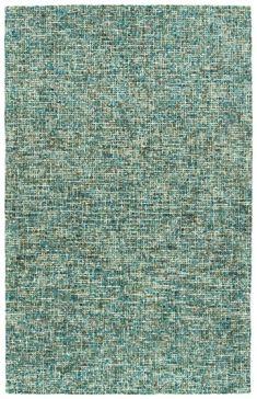 Teal Lucero Wool Area Rug