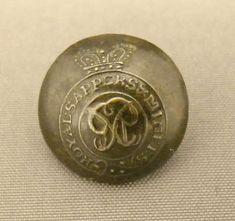 """Bouton anglais - """"Royal Sappers & Miners"""" / prédécesseur de la """"Royal Engineers"""""""