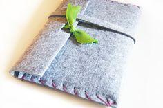 (DIY) iPad Tasche aus Filz - Federwolke