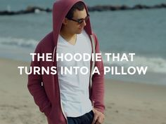 f21fcf12c0 It's simple: it's a hoodie and it's a pillow. It's the new way to. Kapucnis  Pulóver