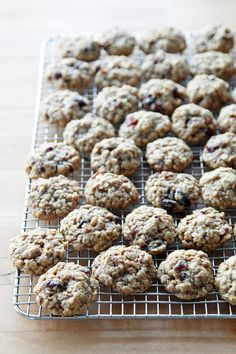 Pin for Later: 40 Recipes So Cozy That You'll Forget It's Cold and Gray Outside Oatmeal Cranberry Pecan Cookies Get the recipe: oatmeal cranberry pecan cookies