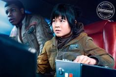 """NEW IMAGE Star Wars The Last Jedi """"Finn and Rose"""" From Entertainment Weekly #starwars"""