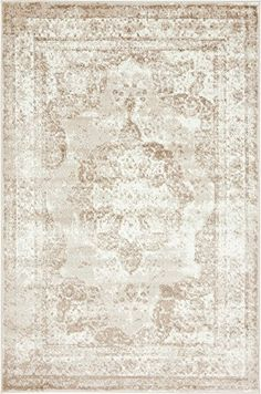 Traditional 4 feet by 6 feet 4 x 6 Sofia Beige Area Rug *** See this great product. (This is an Amazon Affiliate link and I receive a commission for the sales)