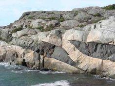 Ramsö En-echelon Dyke Apophyses Kosterhavet Sweden