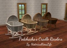 TS2: Podchacha's Cradle Recolors - History Lover's Sims Blog