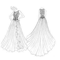 22 best meghan markle s gown ideas designers sketches images Carolina Herrera Young meghan markle s wedding dress will probably look like this meghan markle wedding dress