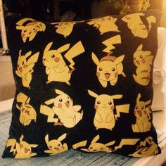 A personal favorite from my Etsy shop https://www.etsy.com/listing/246268374/pikachu-pillow