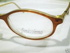 76d30a20b38b New finissimo eyeglasses caramel clear 48-19-135