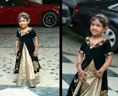 Elegance is ageless.  Outfit for the little princess by Studio 149 by Swathi