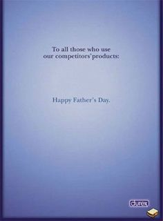 Durex : Happy Fathers Day
