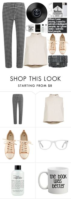 """""""Untitled #721"""" by justange ❤ liked on Polyvore featuring Diane Von Furstenberg, TIBI, Chanel, H&M, Muse, philosophy, women's clothing, women, female and woman"""