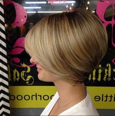 Easy, Short Bob Hair Cut Love this cut and how it is angled.