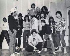 Run DMC, Slayer, Rick Rubin, Russell Simmons & the Beastie Boys Beastie Boys, Run Dmc, Russell Simmons, Hip Hop Instrumental, The Big Four, Rare Photos, Beautiful Celebrities, Celebrity Photos, Megadeth