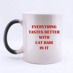 Remarkable Art Sense For Cat Morphing Ceramic Material Mug * You can get more details here : Cat mug