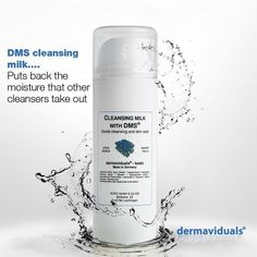 Dermaviduals cleansing milk - available at temple of beauty day spa anti aging treatments, skin Cleansing Milk, Facial Cleansing, Anti Aging Treatments, Skin Care Treatments, Organic Skin Care, Natural Skin Care, Glowing Face, Natural Line, Video Games For Kids