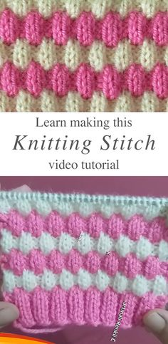 This knit stitch is a stunner. It has the perfect amount of puffiness to keep warm in the winter months all the while maintaining your gorgeous sense of style! HOW TO PROPERLY MAKE THIS KNIT STITCH Th